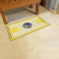 Golden State Warriors NBA Court Large Runner