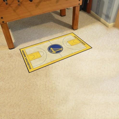 Golden State Warriors NBA Court Runner Rug