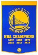 Golden State Warriors NBA Dynasty Banner
