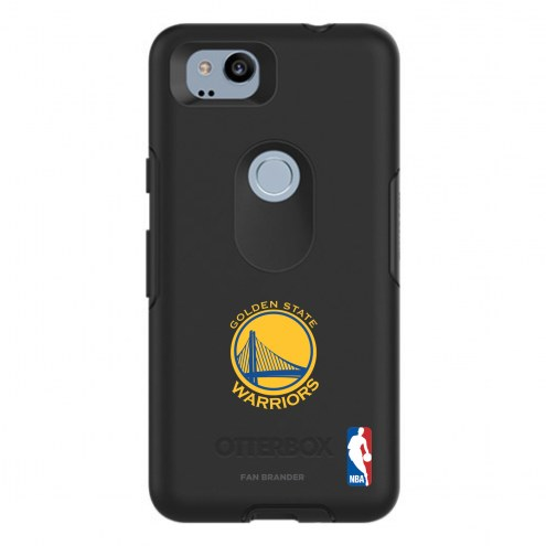 Golden State Warriors OtterBox Google Pixel 2 Symmetry Black Case
