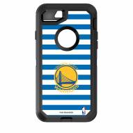 Golden State Warriors OtterBox iPhone 8/7 Defender Stripes Case