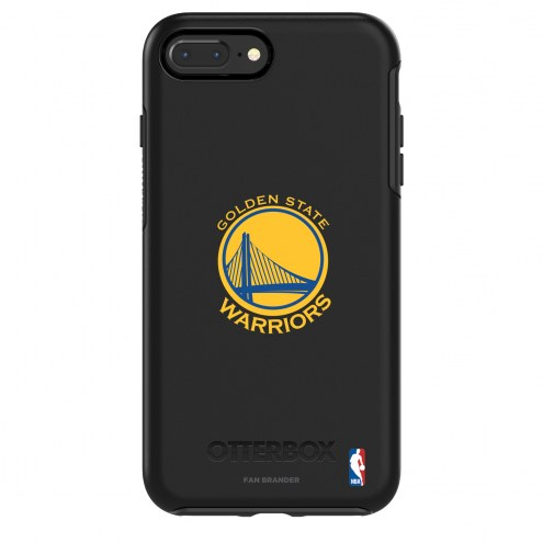 Golden State Warriors OtterBox iPhone 8/7 Symmetry Black Case