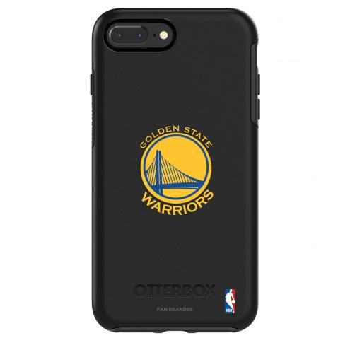 Golden State Warriors OtterBox iPhone 8/7 Symmetry Black Case