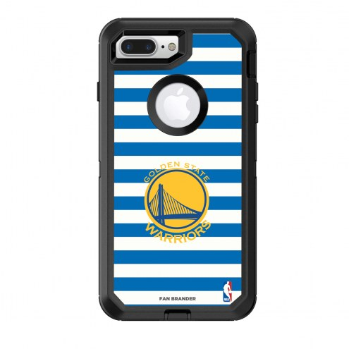 Golden State Warriors OtterBox iPhone 8 Plus/7 Plus Defender Stripes Case