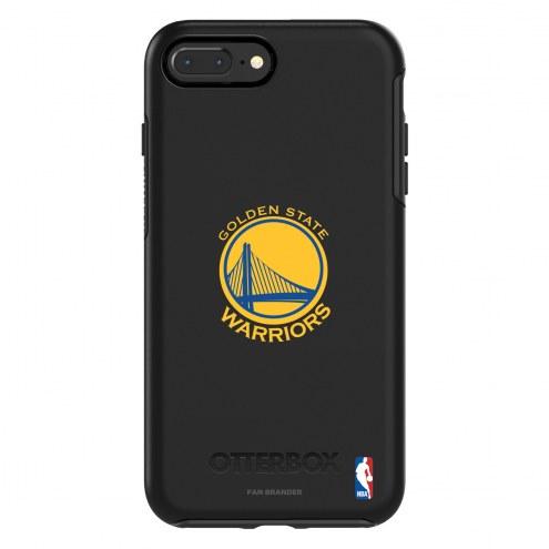 Golden State Warriors OtterBox iPhone 8 Plus/7 Plus Symmetry Black Case