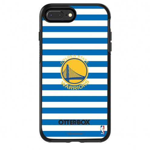 Golden State Warriors OtterBox iPhone 8 Plus/7 Plus Symmetry Stripes Case