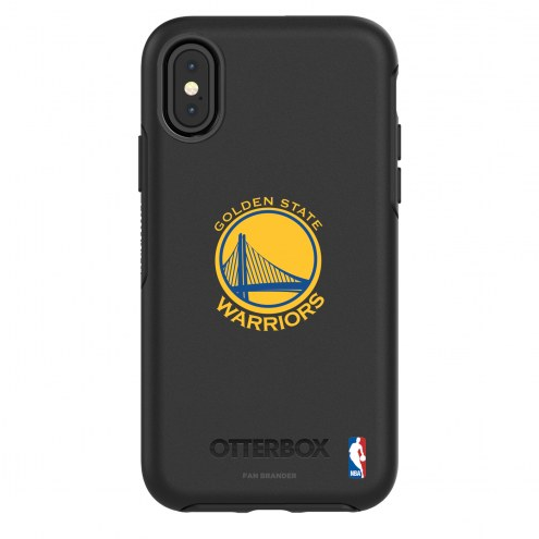 Golden State Warriors OtterBox iPhone X/Xs Symmetry Black Case