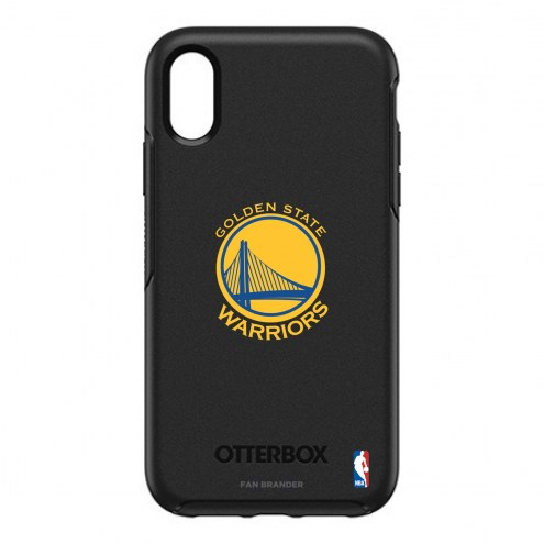 Golden State Warriors OtterBox iPhone XR Symmetry Black Case
