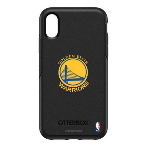 Golden State Warriors OtterBox iPhone XR Symmetry Black Case