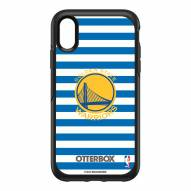 Golden State Warriors OtterBox iPhone XR Symmetry Stripes Case