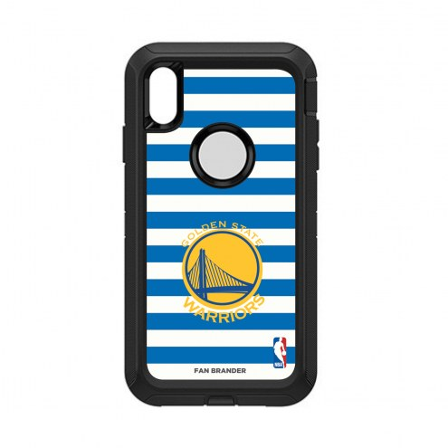 Golden State Warriors OtterBox iPhone XS Max Defender Stripes Case