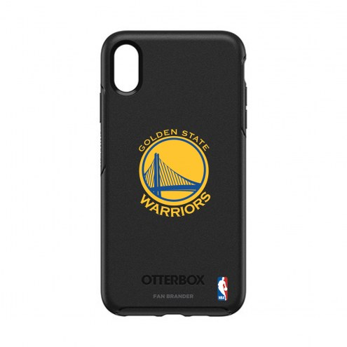 Golden State Warriors OtterBox iPhone XS Max Symmetry Black Case