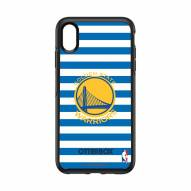 Golden State Warriors OtterBox iPhone XS Max Symmetry Stripes Case