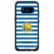 Golden State Warriors OtterBox Samsung Galaxy S8 Symmetry Stripes Case