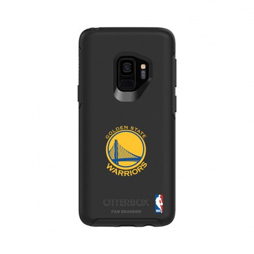 Golden State Warriors OtterBox Samsung Galaxy S9 Symmetry Black Case