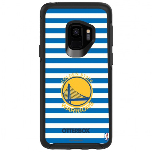 Golden State Warriors OtterBox Samsung Galaxy S9 Symmetry Stripes Case