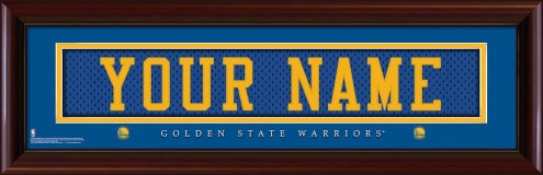 Golden State Warriors Personalized Stitched Jersey Print