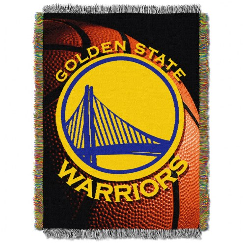 Golden State Warriors Photo Real Throw Blanket