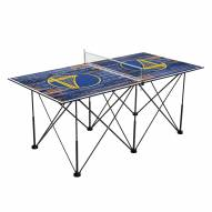 Golden State Warriors Pop Up 6' Ping Pong Table