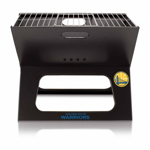Golden State Warriors Portable Charcoal X-Grill