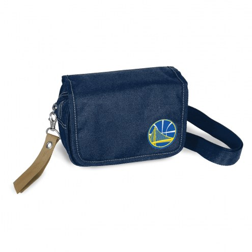 Golden State Warriors Ribbon Waist Pack Purse