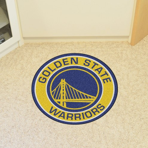Golden State Warriors Rounded Mat