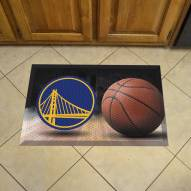 Golden State Warriors Scraper Door Mat