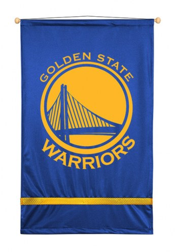 Golden State Warriors Sidelines Wall Hanging