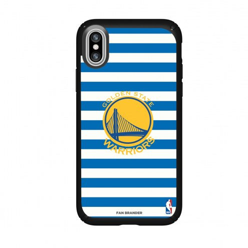 Golden State Warriors Speck iPhone X Presidio Stripes Case