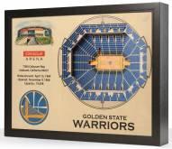 Golden State Warriors 25-Layer StadiumViews 3D Wall Art