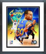 Golden State Warriors Stephen Curry 2014 Portrait Plus Framed Photo