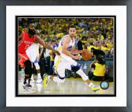 Golden State Warriors Stephen Curry 2015 Western Conference Finals Framed Photo