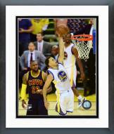 Golden State Warriors Stephen Curry Game 1 of the 2015 NBA Finals Framed Photo