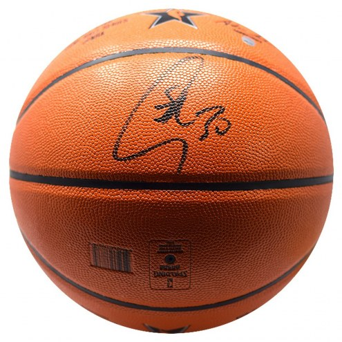 Golden State Warriors Stephen Curry Signed Spalding 2017 NBA All Star Game Replica Basketball