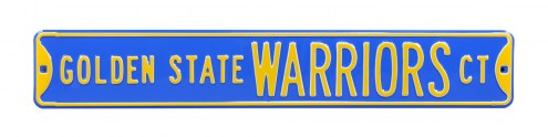 Golden State Warriors Street Sign