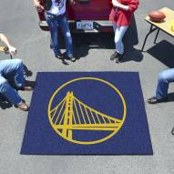 Golden State Warriors Tailgate Mat