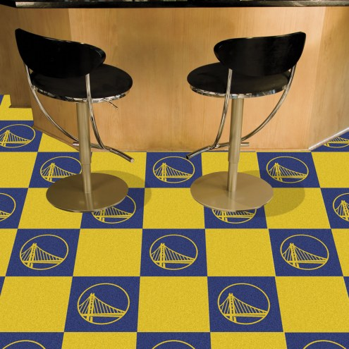 Golden State Warriors Team Carpet Tiles