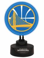 Golden State Warriors Team Logo Neon Light