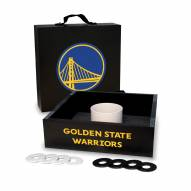 Golden State Warriors Washer Toss Game Set
