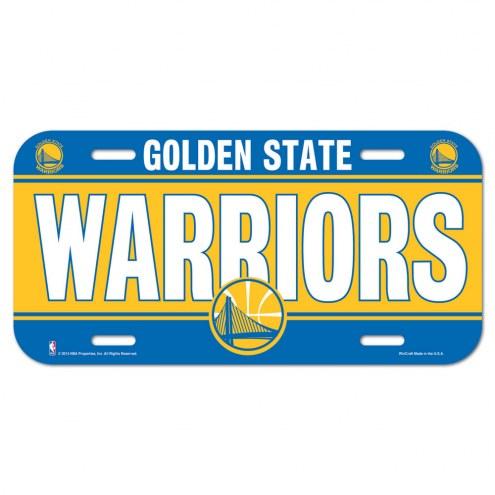 Golden State Warriors License Plate