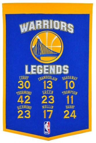 Golden State Warriors Legends Banner