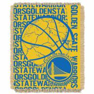 Golden State Warriors Woven Jacquard Throw Blanket