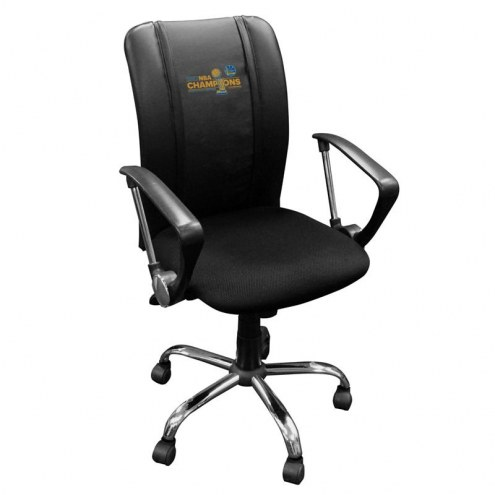 Golden State Warriors XZipit Curve Desk Chair with Secondary Logo