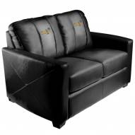 Golden State Warriors XZipit Silver Loveseat with Secondary Logo