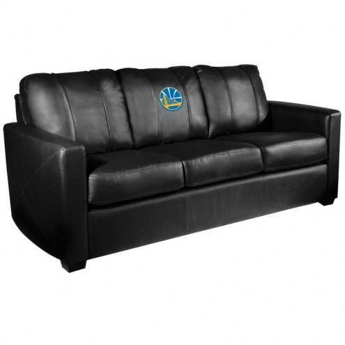 Golden State Warriors XZipit Silver Sofa