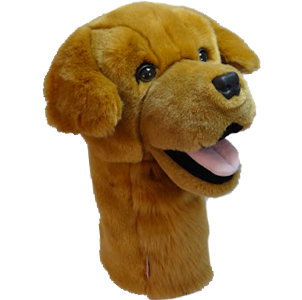 Golden Retriever Oversized Animal Golf Club Headcover