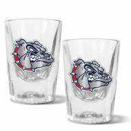 Gonzaga Bulldogs 2 oz. Prism Shot Glass Set