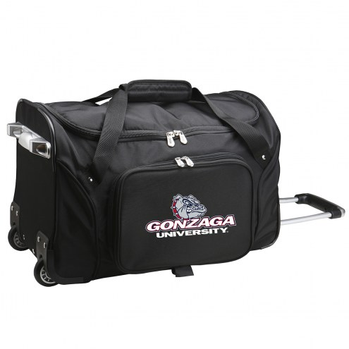 "Gonzaga Bulldogs 22"" Rolling Duffle Bag"