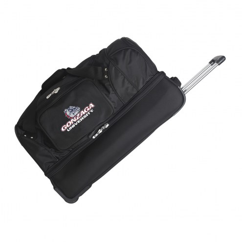 "Gonzaga Bulldogs 27"" Drop Bottom Wheeled Duffle Bag"
