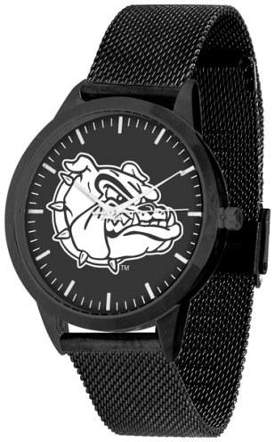 Gonzaga Bulldogs Black Dial Mesh Statement Watch